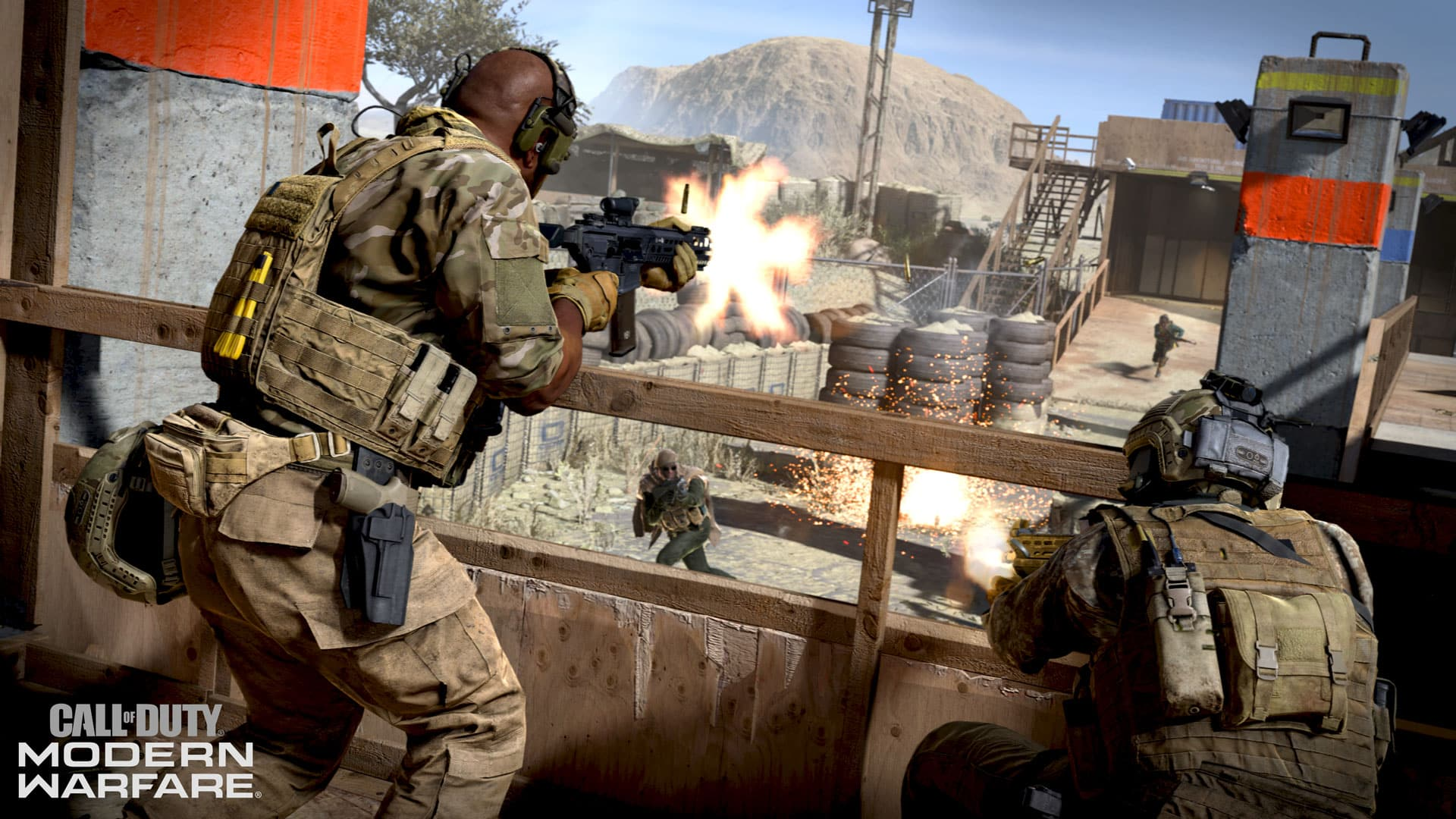 Call of Duty Modern Warfare Multiplayer Alpha free on PS4