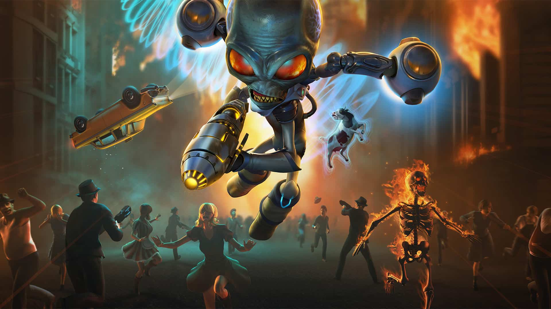 The Destroy All Humans! Remake Demo Xbox Game Pass April