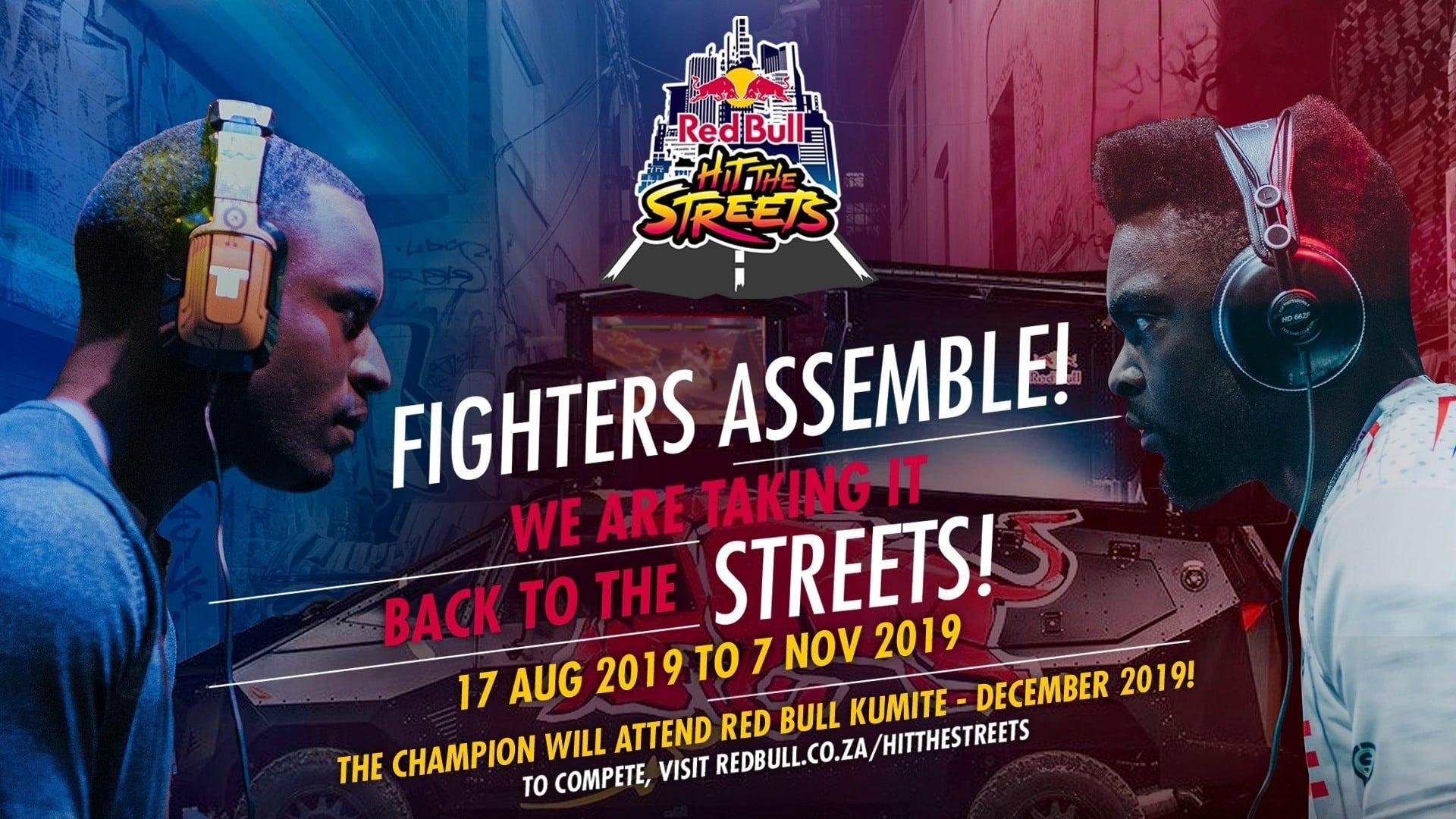 Red bull hit the streets street fighter V