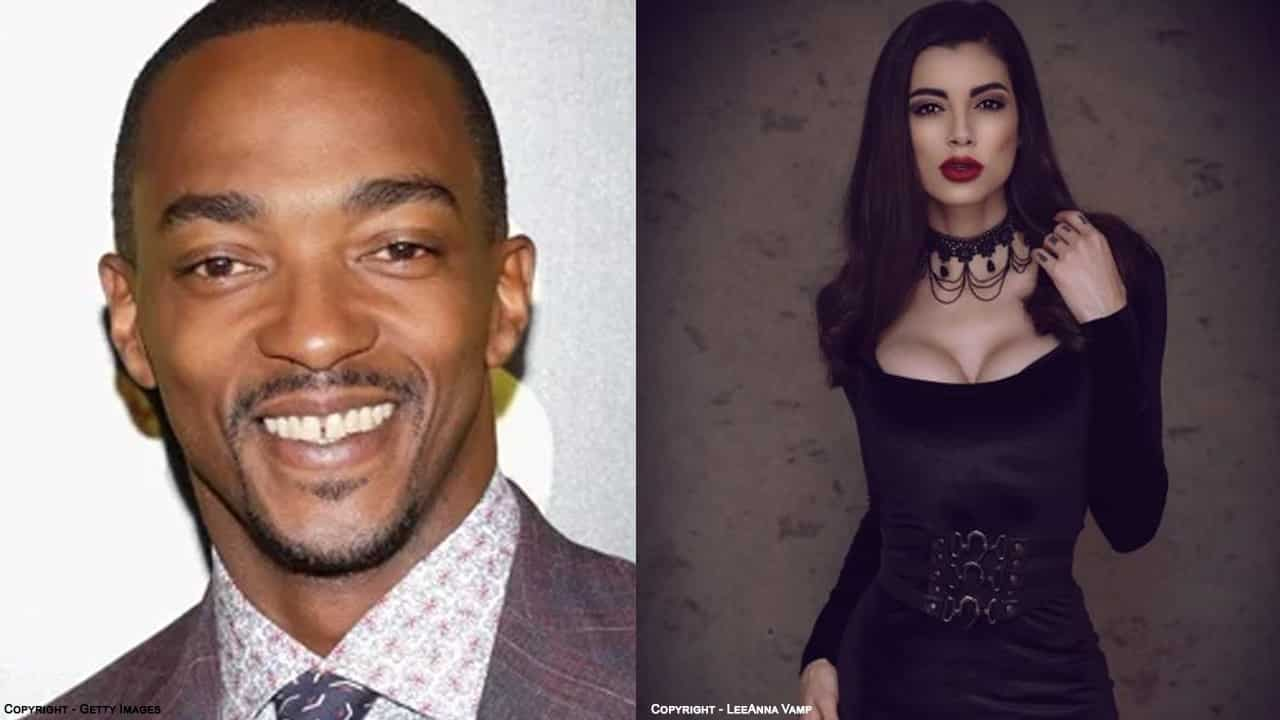 Comic Con Africa Anthony Mackie LeeAnna Vamp