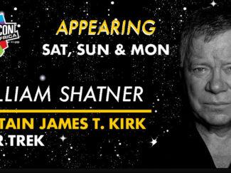 Comic Con Africa William Shatner