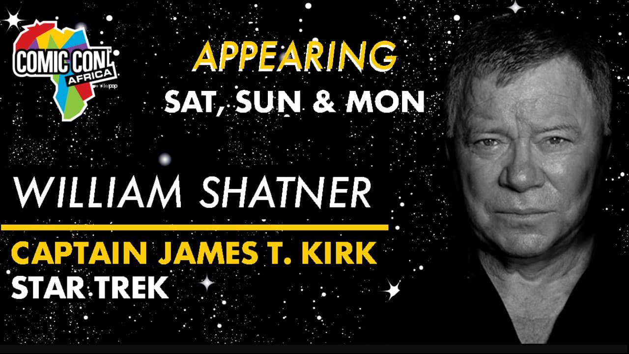 Comic Con Africa William Shatner