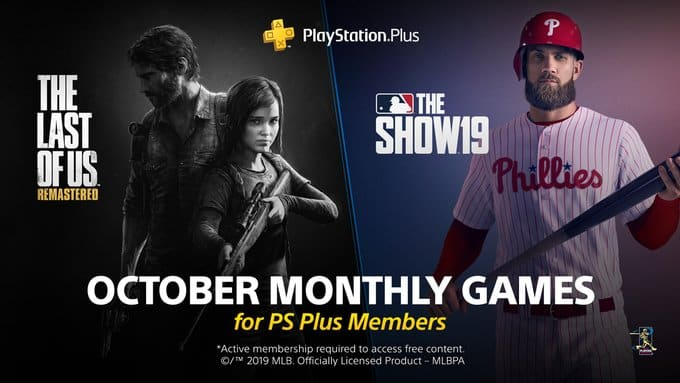 PlayStation Plus October 2019