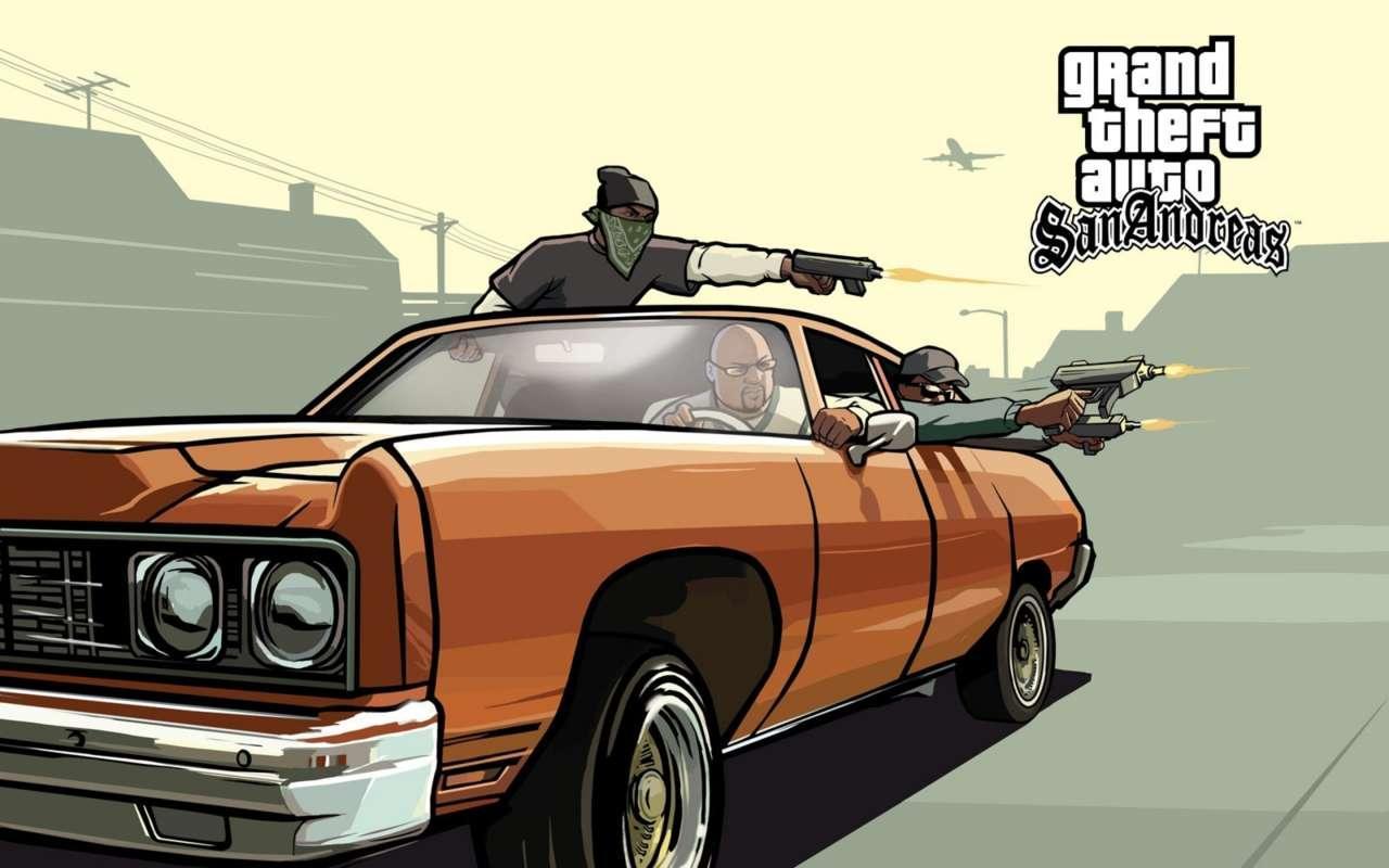 GTA: San Andreas free Rockstar Games Launcher Grand Theft Auto