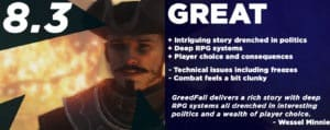 greedfall review RPG
