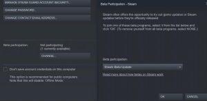 Steam Library Redesign open beta Valve