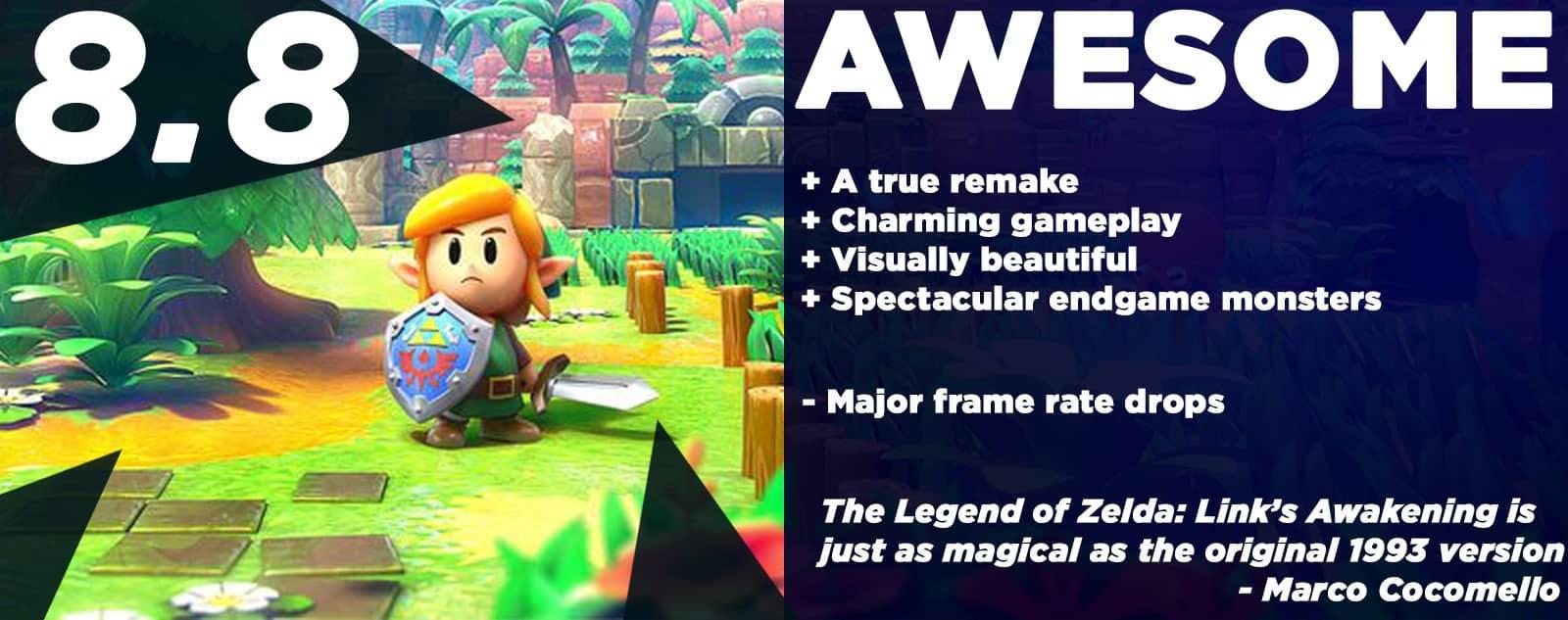 The Legend of Zelda: Link's Awakening Review
