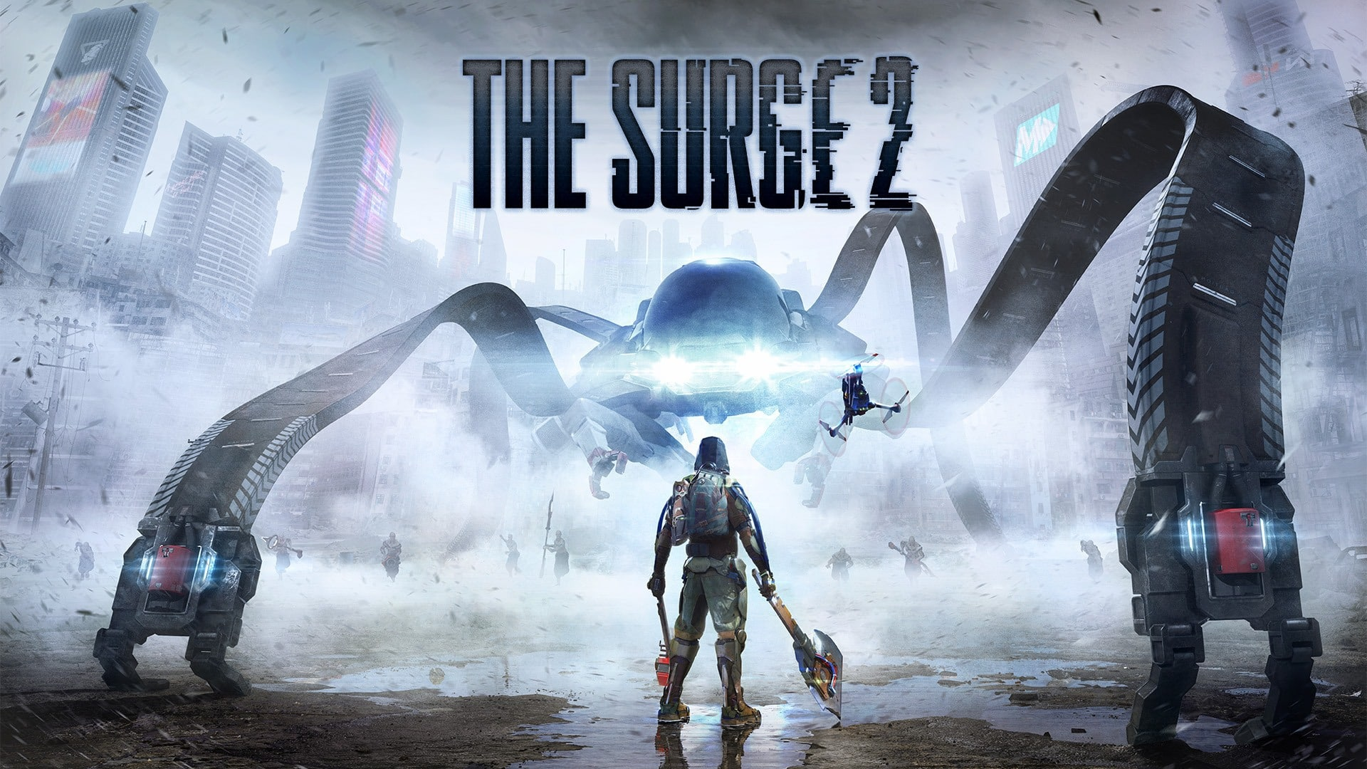 The Surge 2 PS4 Pro Xbox One X Deck13 Focus Home Interactive