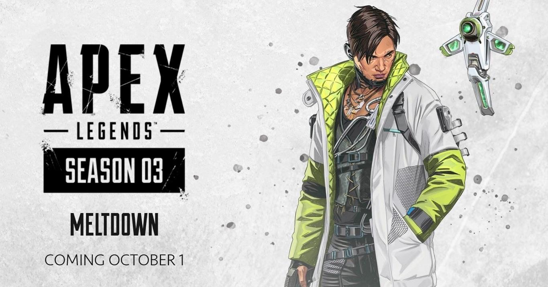 Apex Legends Season 3 Crypto Respawn Entertainment EA