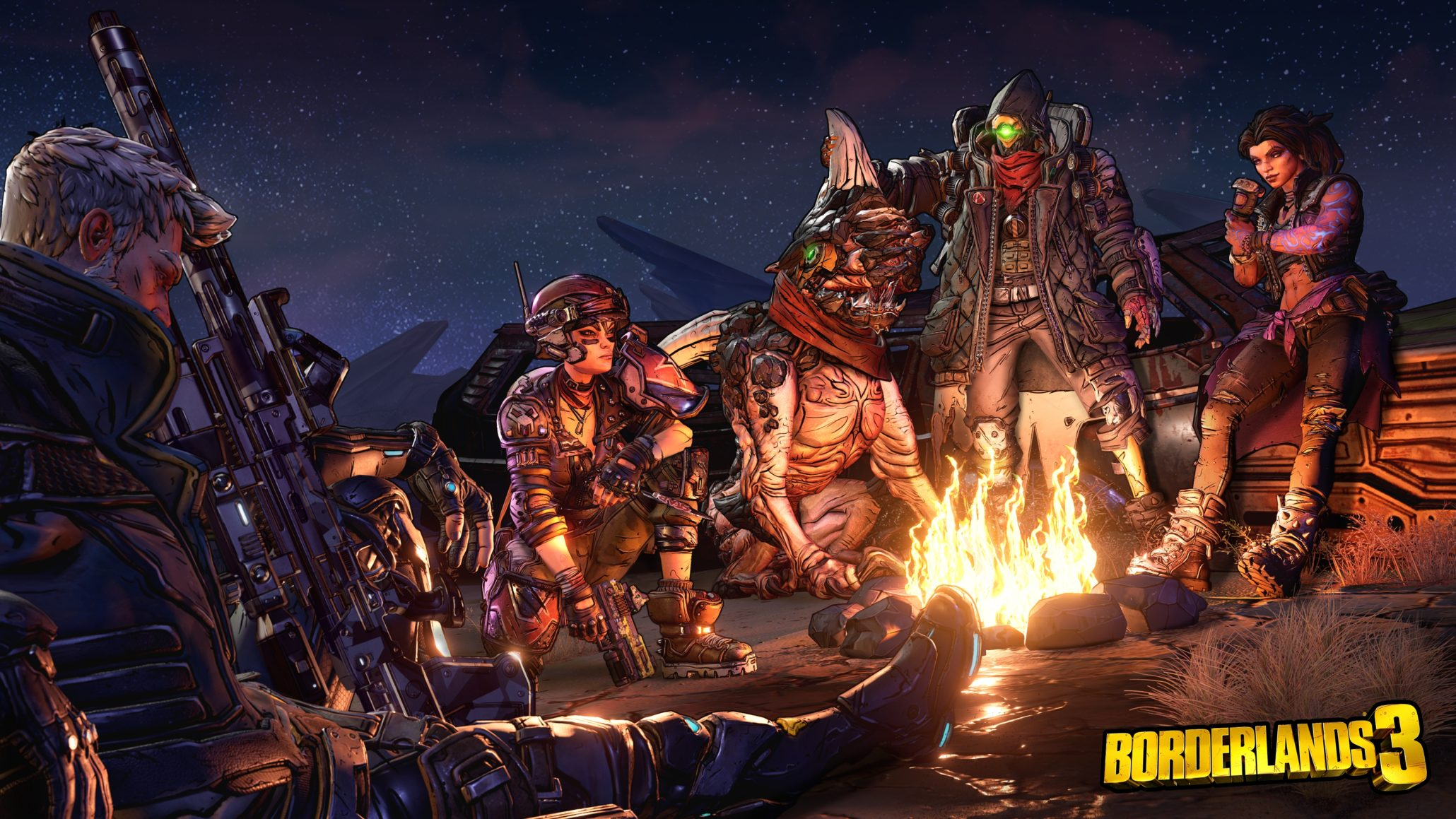 Borderlands 3 on PC Gearbox Software Randy Pitchford Epic Games Store