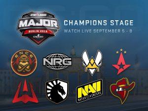 CS: GO Starladder Berlin Major Champions Stage