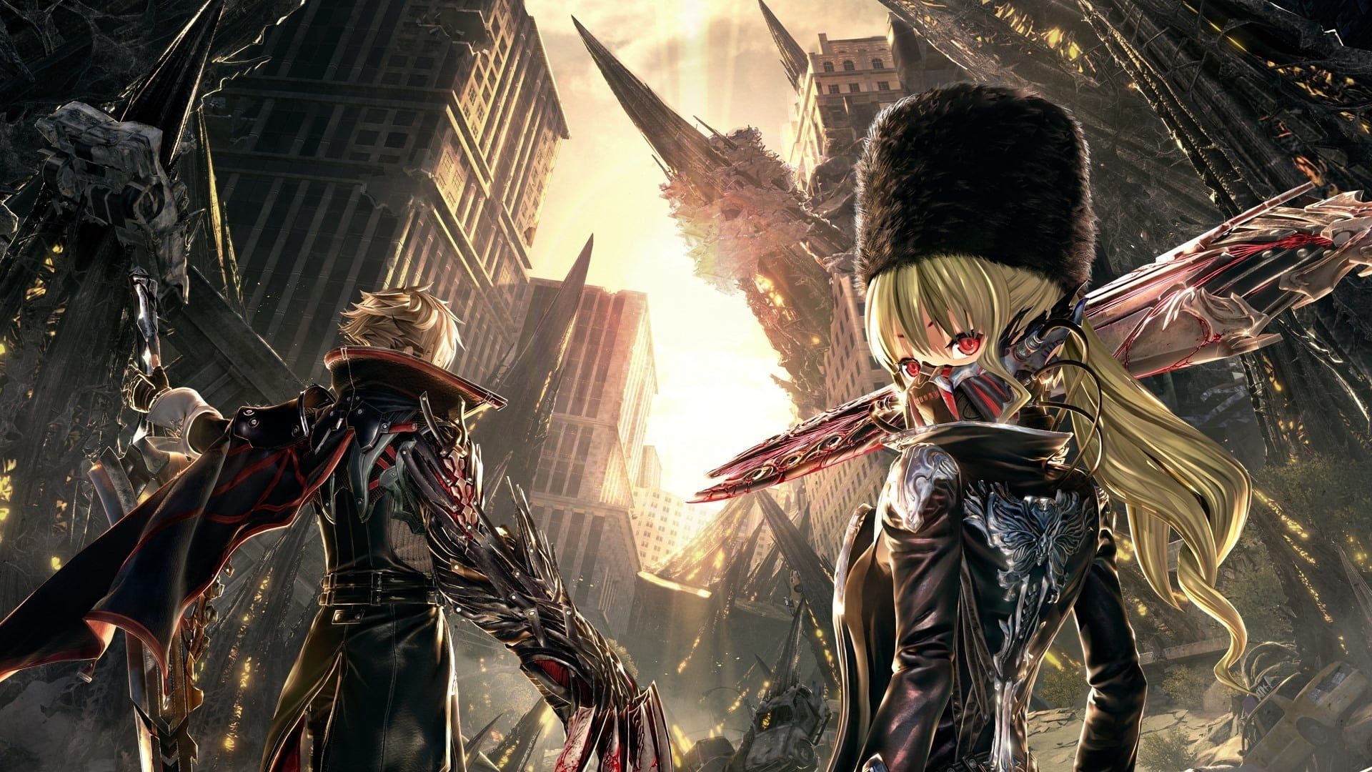 Play The Free Code Vein Demo Now on PS4 and Xbox One