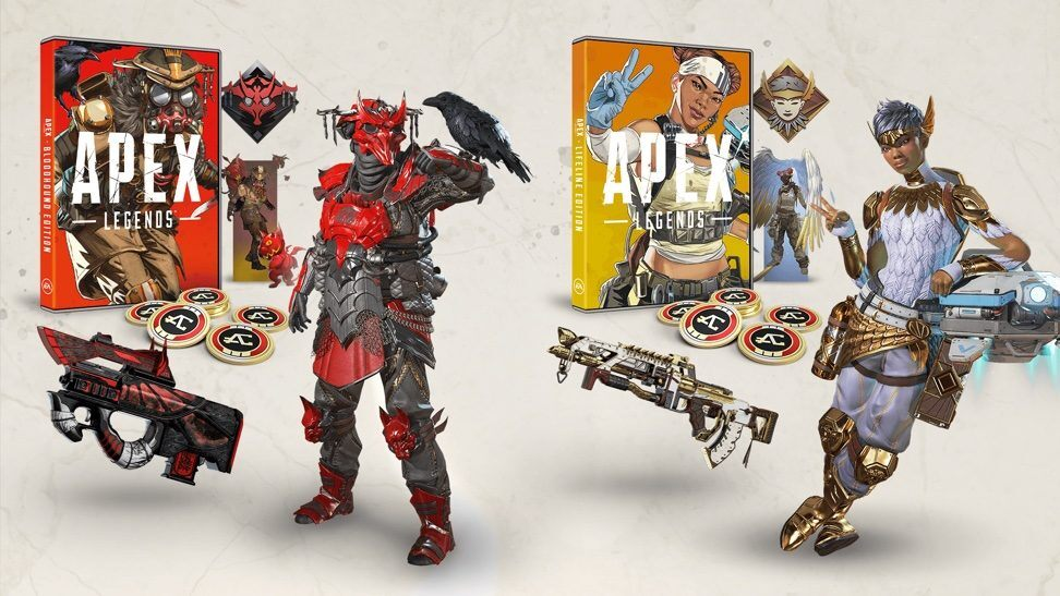 Apex Legends Physical Editions Electronic Arts Respawn Entertainment lifeline bloodhound