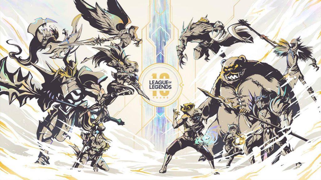 League of Legends celebrations riot games