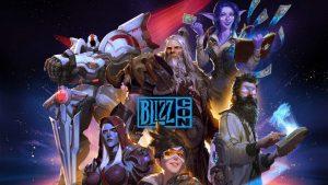 Blizzcon 2019 schedule Diablo 2 remastered diablo 4 overwatch 2 world of warcraft blizzard BlizzConline