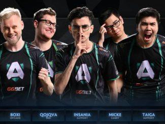 Team Liquid Dota 2 roster Dota 2 esports Alliance