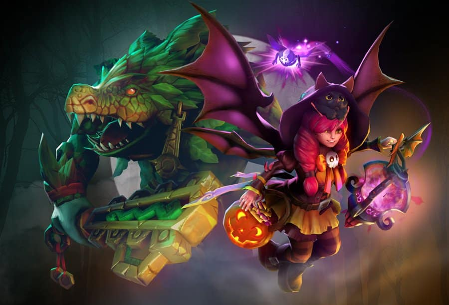 Dota 2 treasure Dota 2 cosmetics Valve Treasure of Twilight Procession