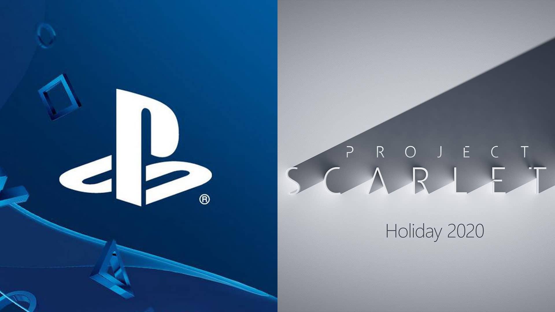 PS5 PlayStation 5 Xbox Scarlet Microsoft Sony next-gen