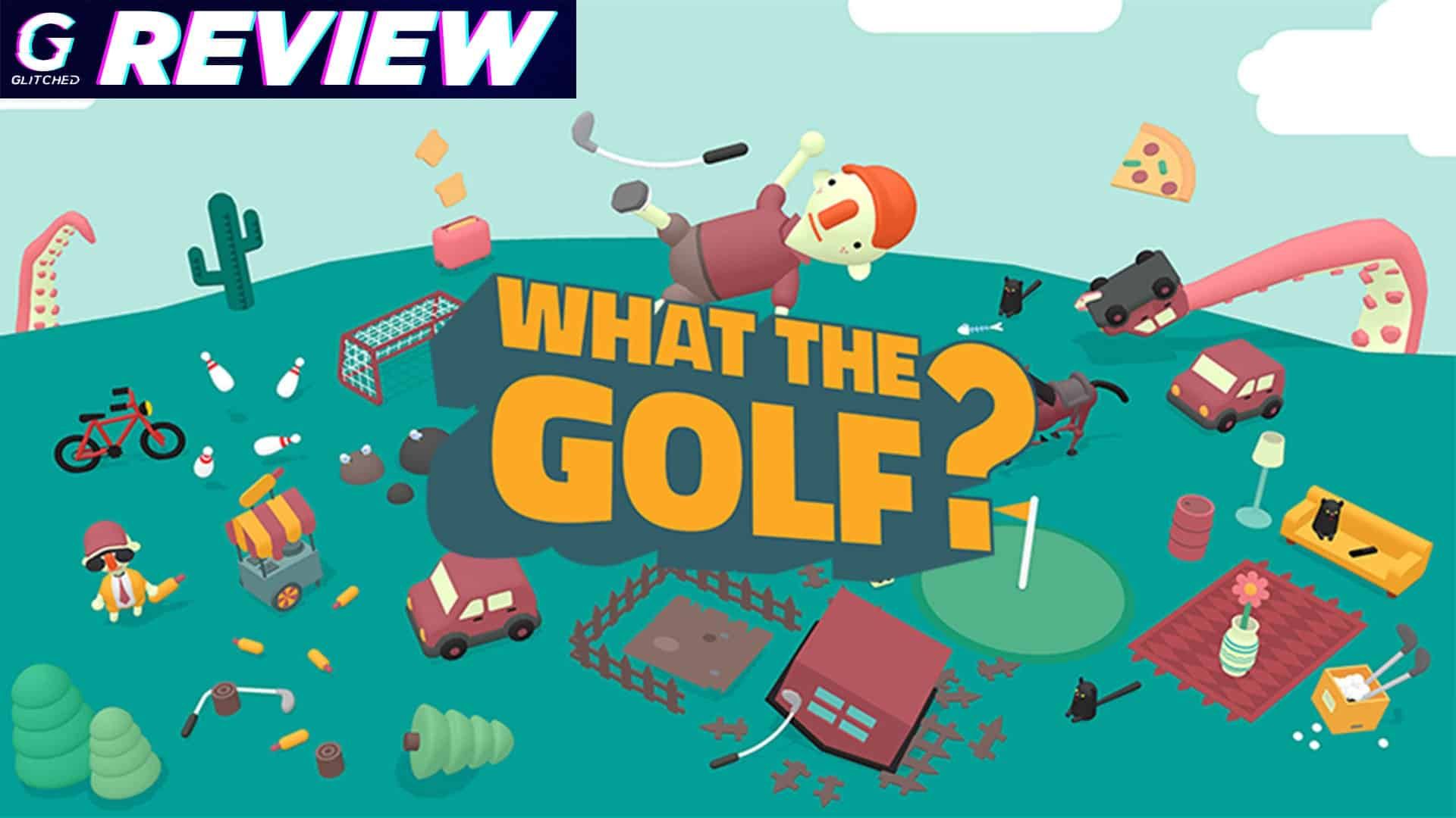 What The Golf? review Triband Golf game