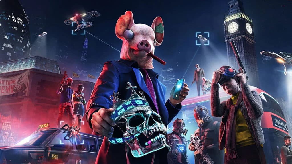 Ubisoft Watch Dogs Legion Online Mode PS5 Xbox Series X Next-Gen in-game purchases Source Code