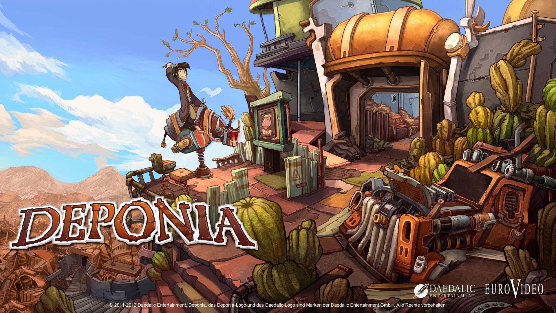 Deponia free game indiegala Daedalic Entertainment