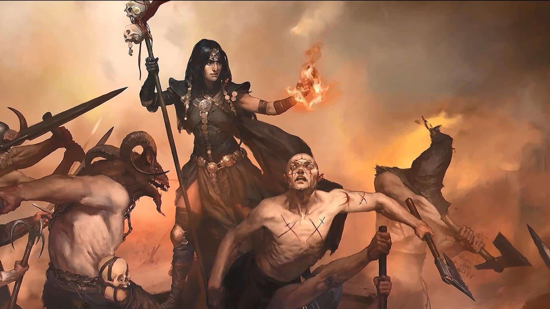 Diablo IV Diablo 4 PvP Player versus Player Blizzard Diablo 4 shared world