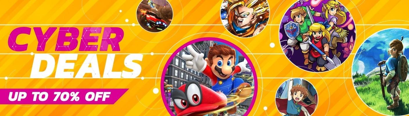 Nintendo eshop Cyber deals sale 2019