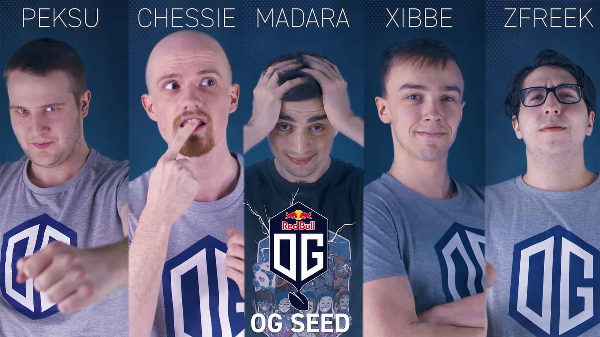 OG seed roster Dota 2 esports Dota Pro Circuit