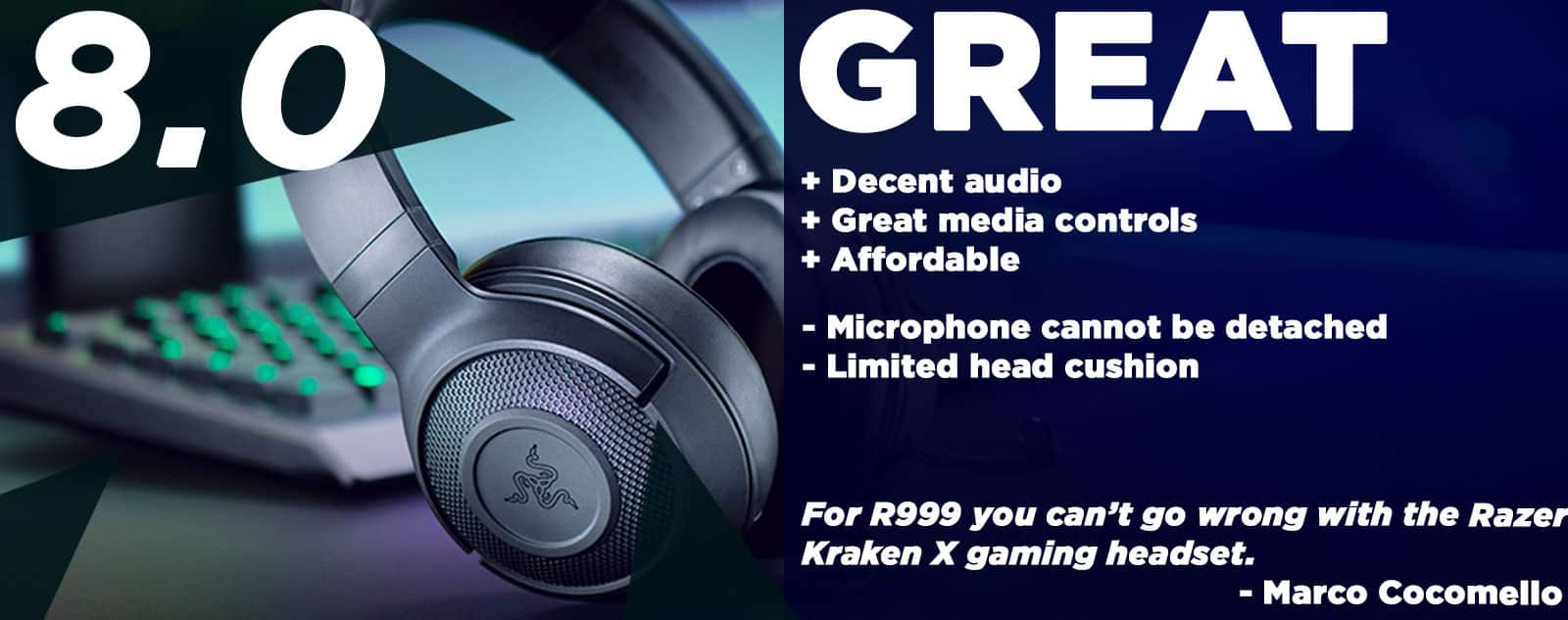 Razer Kraken X Review