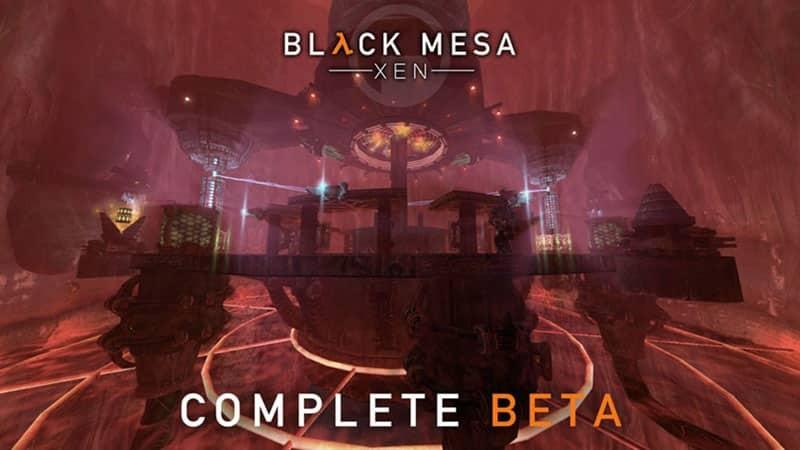 Black Mesa Xen Levels Ending Crowbar Collective Half-Life Steam