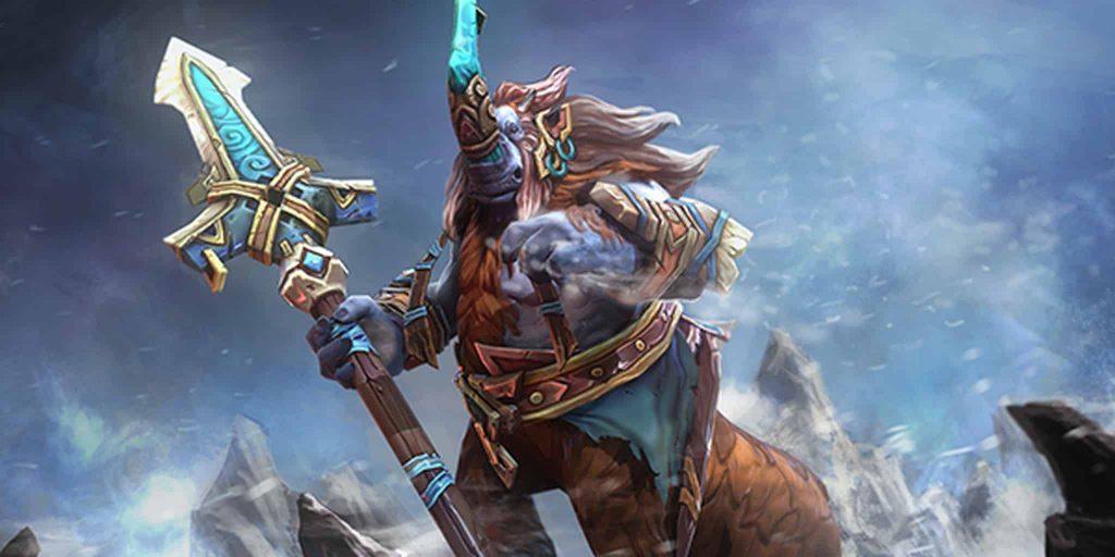 Dota 2 gameplay update 7.23c Valve Magnus Treant