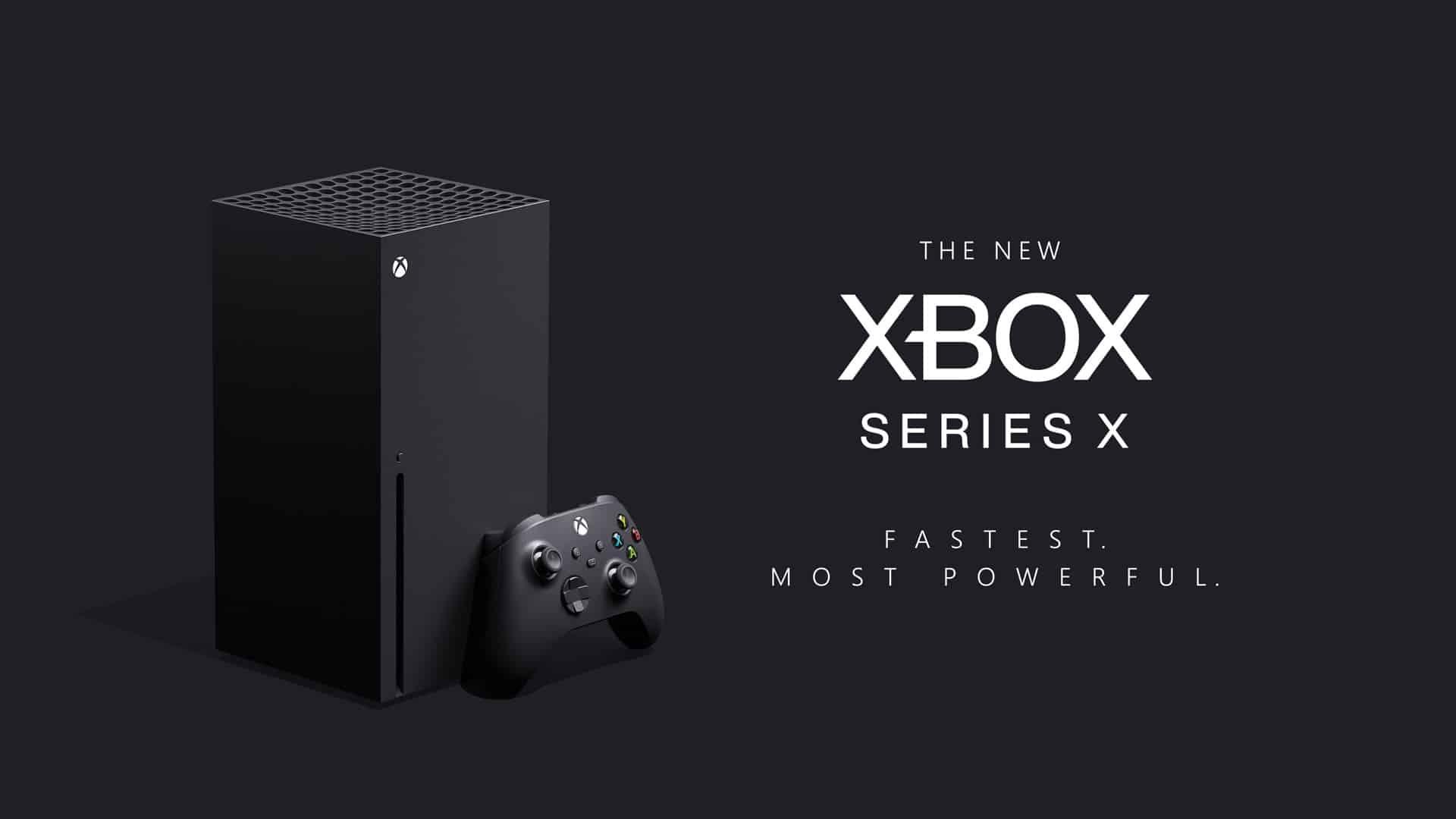 Next-Gen Xbox Series X Console