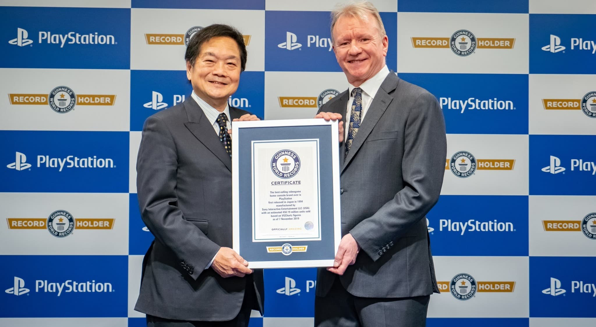 Sony PlayStation Guinness World Record