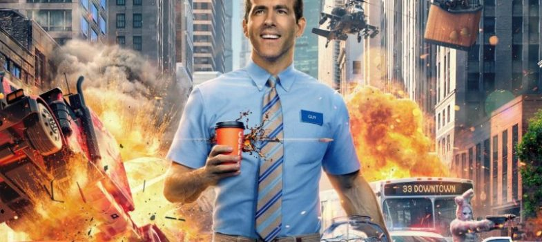 Free Guy Stars Ryan Reynolds as an NPC in a GTA-Like Open World Game