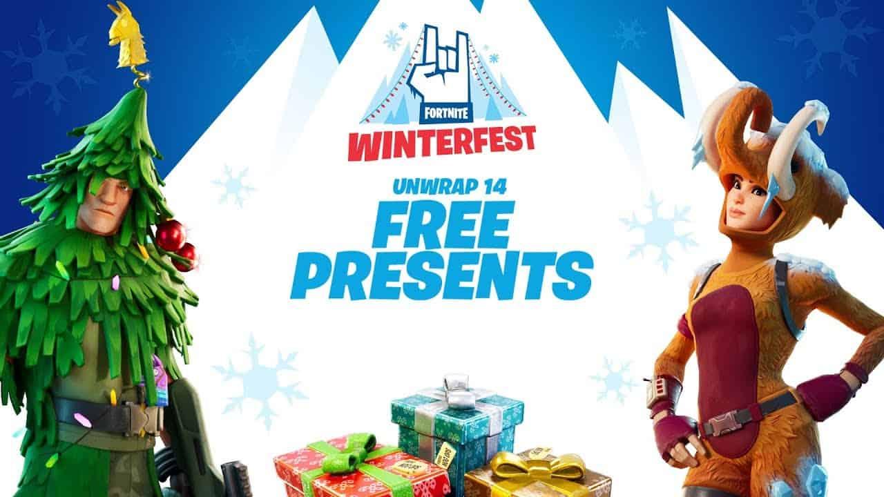 Fortnite Winterfest