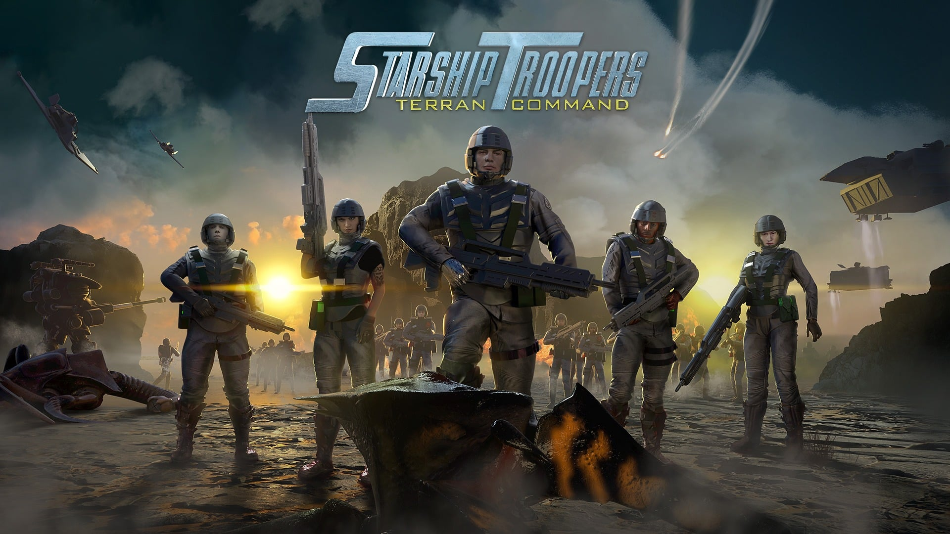 Starship Troopers: Terran Command Sony Pictures Consumer Products Slitherine