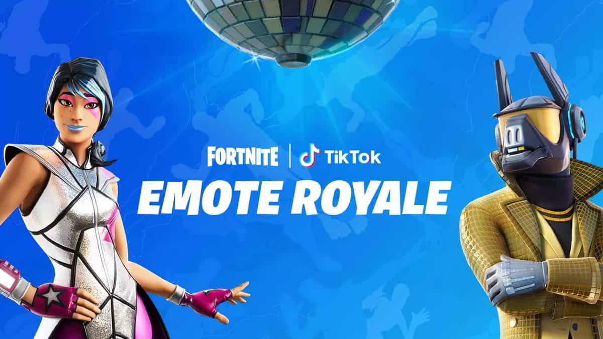 Fortnite TikTok Emote Royale