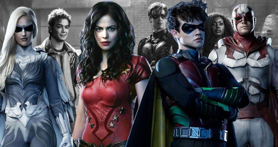 Titans Netflix January 2020