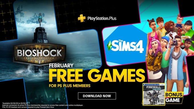February PlayStation Plus