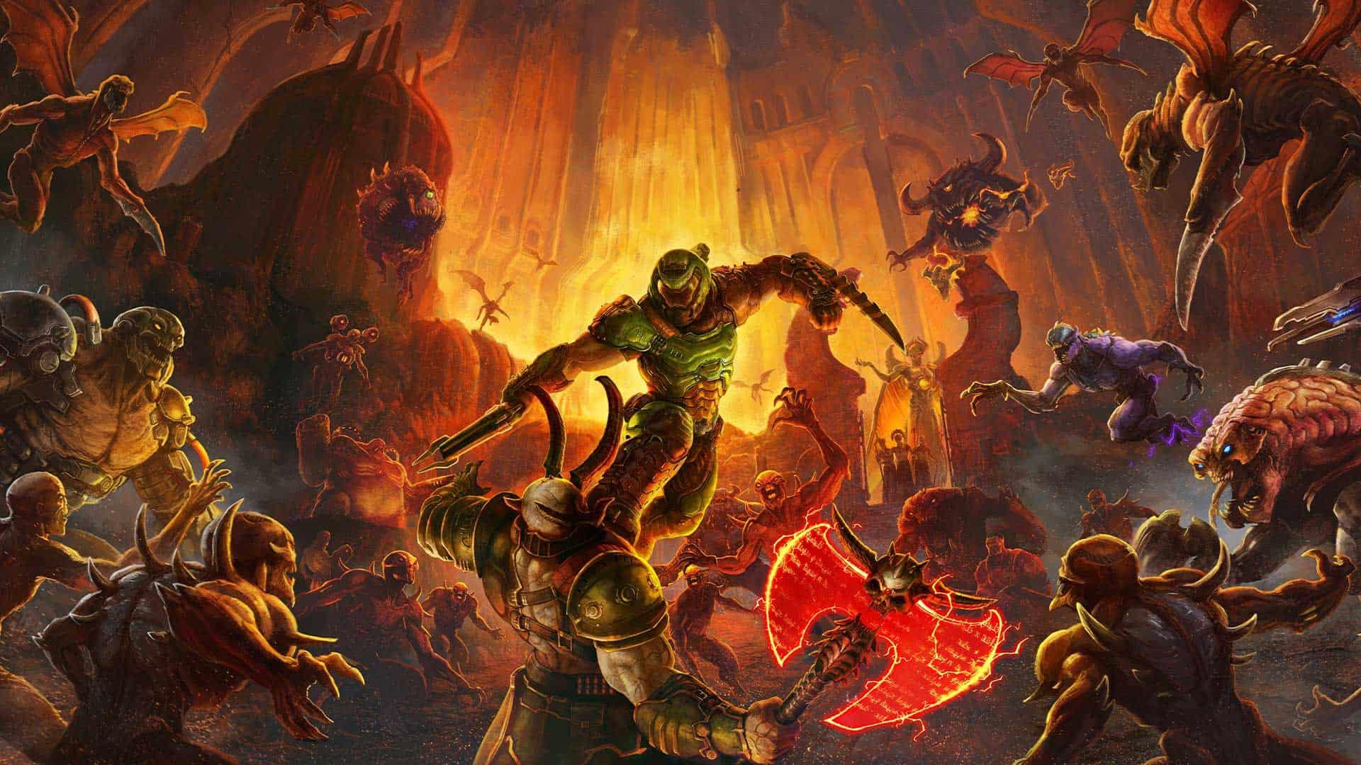 Doom Eternal Denuvo Nexus Retail Microtransactions 2020 Video game Releases