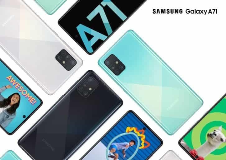 Samsung Galaxy A51 A71 Note 10 Lite South Africa