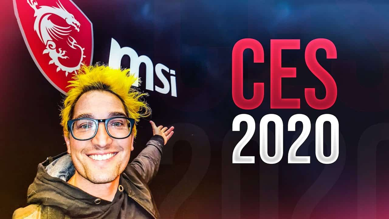 CES 2020 AMD MSI Grant Hinds