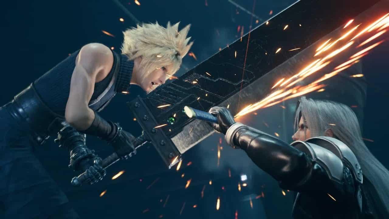 SA Lockdown Final Fantasy VII Remake file sizeSquare Enix