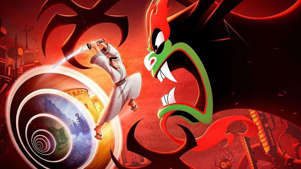 Samurai Jack Battle Through Time Adult Swim Cartoon network