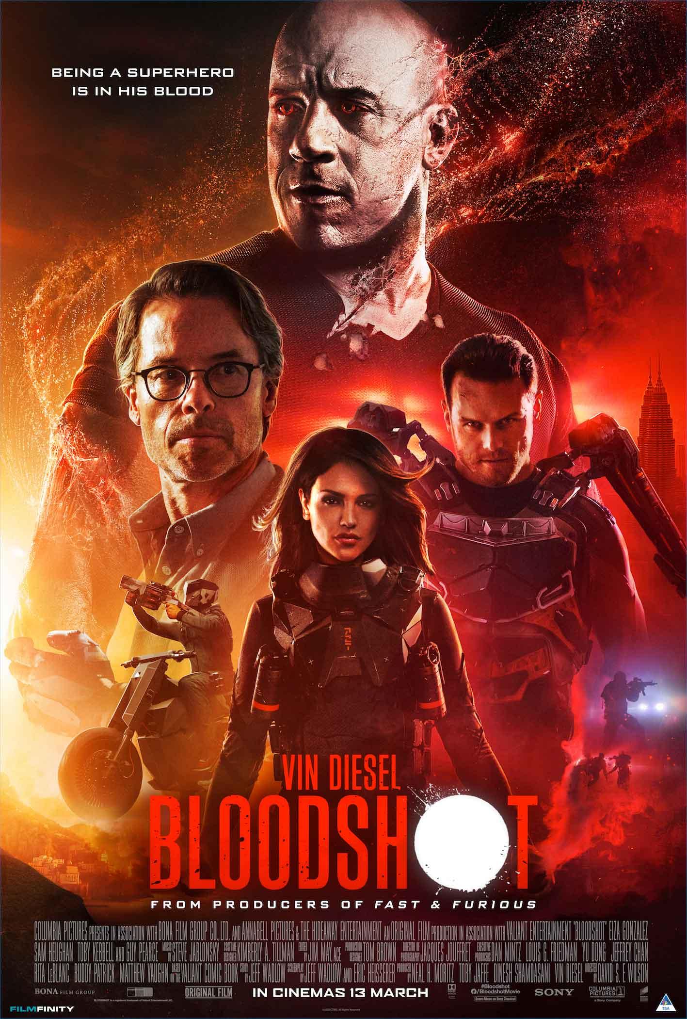 Bloodshot Vin Diesel Movie