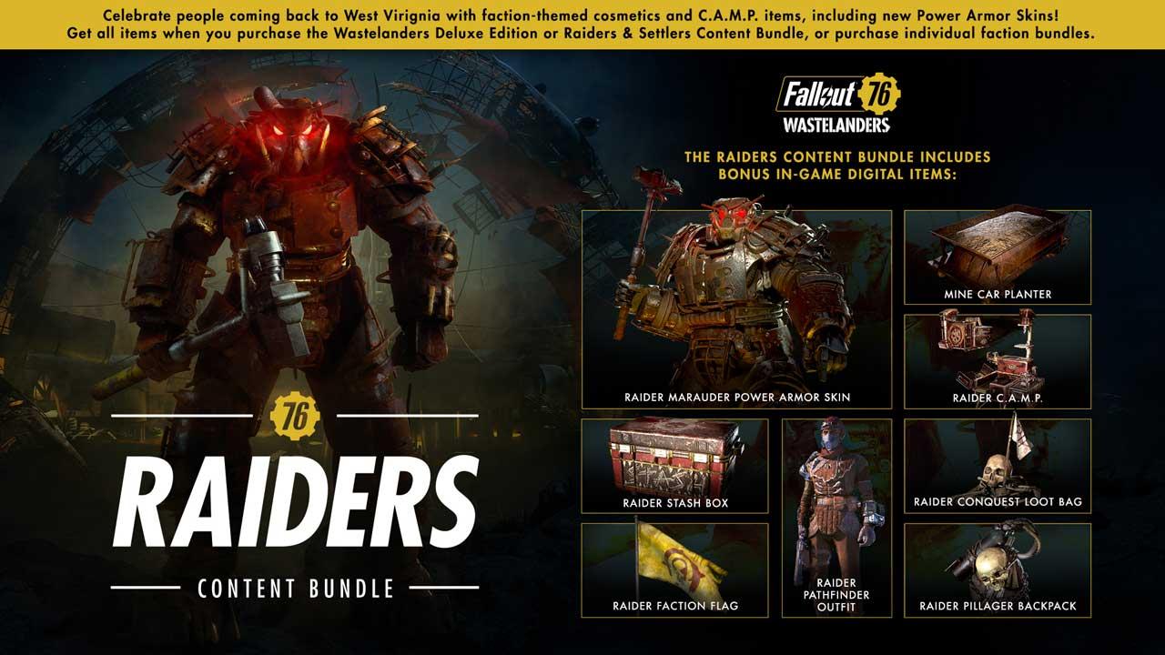 Fallout 76 NPC Expansion Wastelanders