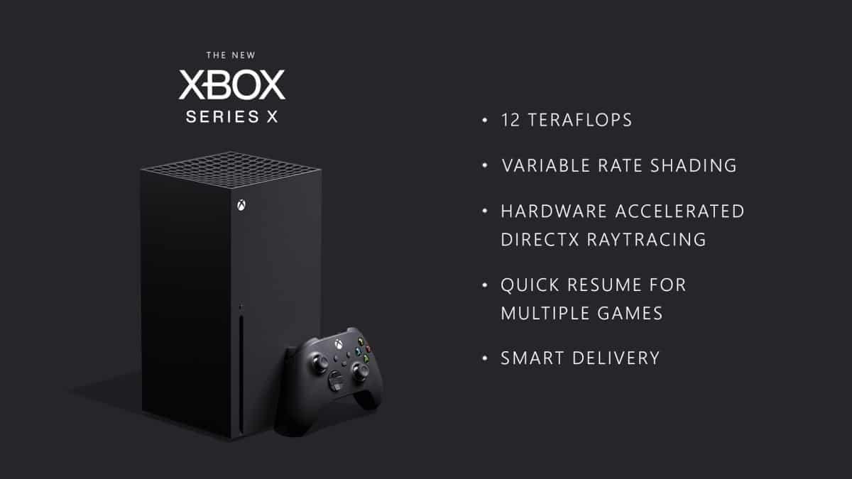 Microsoft Xbox Series X PS5 Next-gen