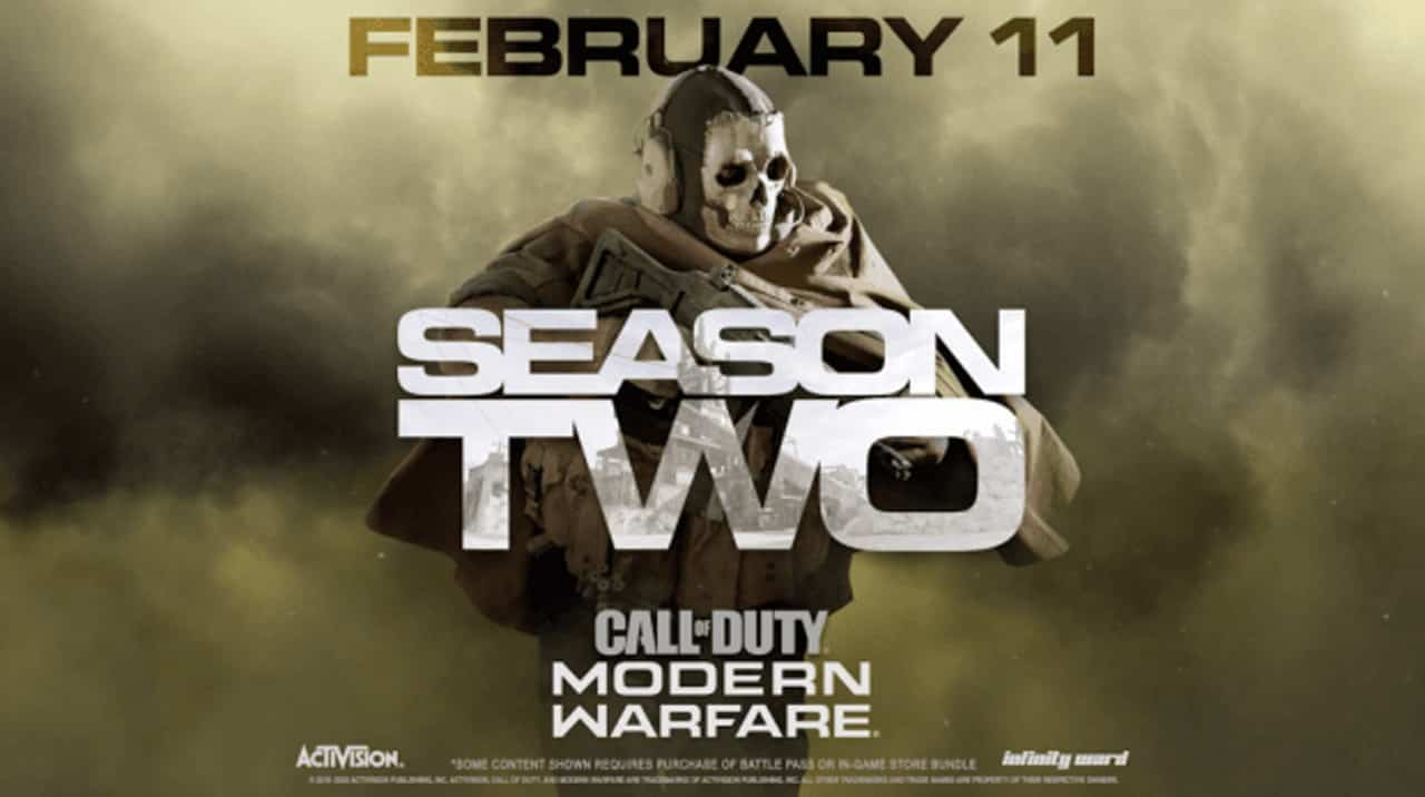 Call of Duty Modern Warfare Season Two Activision