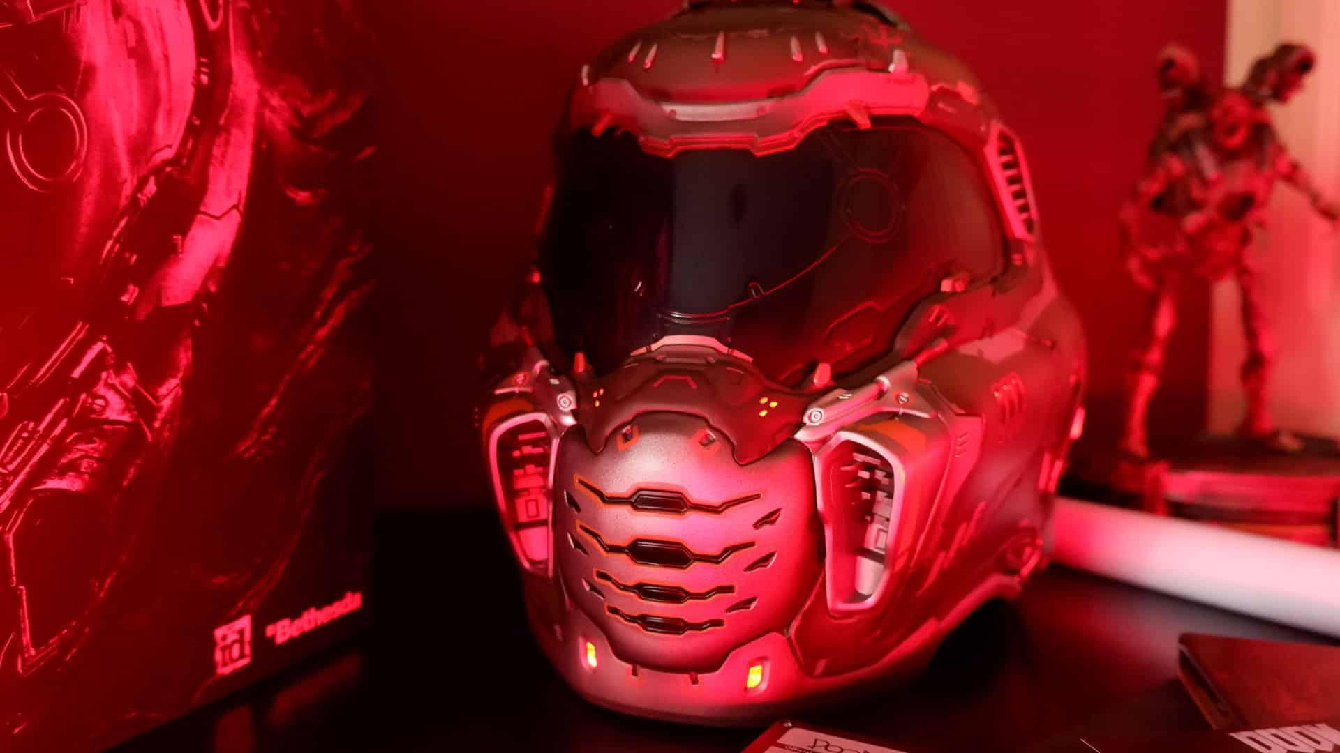 DOOM Eternal Collector's Edition Unboxing Helmet