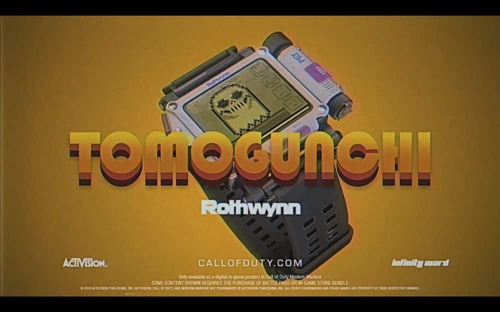 Call of Duty: Modern Warfare Tamagotchi Tomogunchi